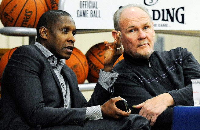 HERE NO MORE – The Nuggets parted ways with Head Coach George Karl and General Manager Masai Ujiri in the off-season.