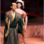 Gustavo as Nanki Pooh in the fall musical, The Mikado.