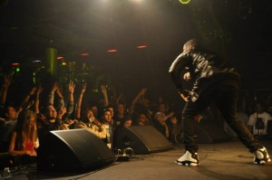 Big K.R.I.T. performing for a packed house at Cervantes