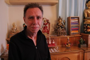 Teacher and Guide-Denis Radigan leads a Buddhist meditation class at noon, Monday through Thursday