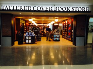 The new Tattered Cover bookstore in Concourse A.  Photo from Media Relation at DIA.
