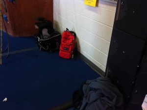 Campus Director Tony Price Tony Price recommends not to leave backpacks unattended in the locker rooms. [Photo by Kevin Sanchez]
